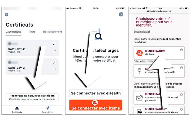 certificate capture