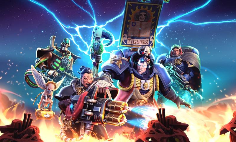 Warhammer 40,000: Tacticus - Snowprint Studio Announces Warhammer 40,000: Tacticus Tactical Mobile Game