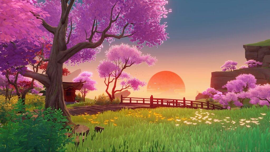 L'effetto Jinshin - Serenita del Patio del Mundo by Silken Bowl
