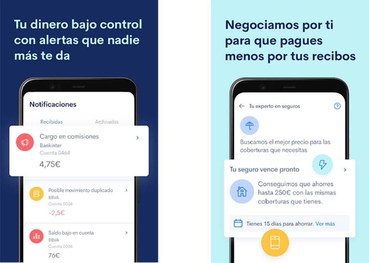 fintonic is one of the best apps to learn how to save with your mobile