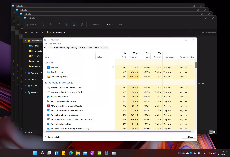 Windows ERROR 11