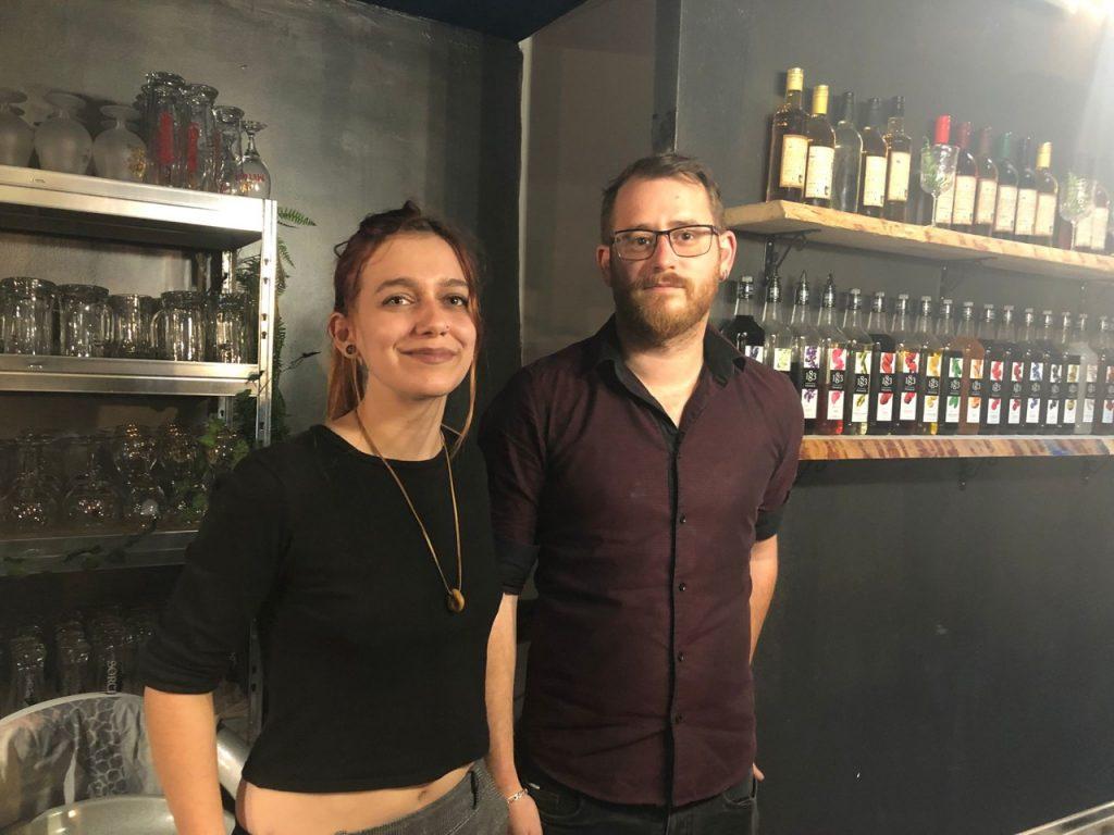 Anaïs et Justin ont ouvert La Taverne du Graoully à Metz (Moselle).