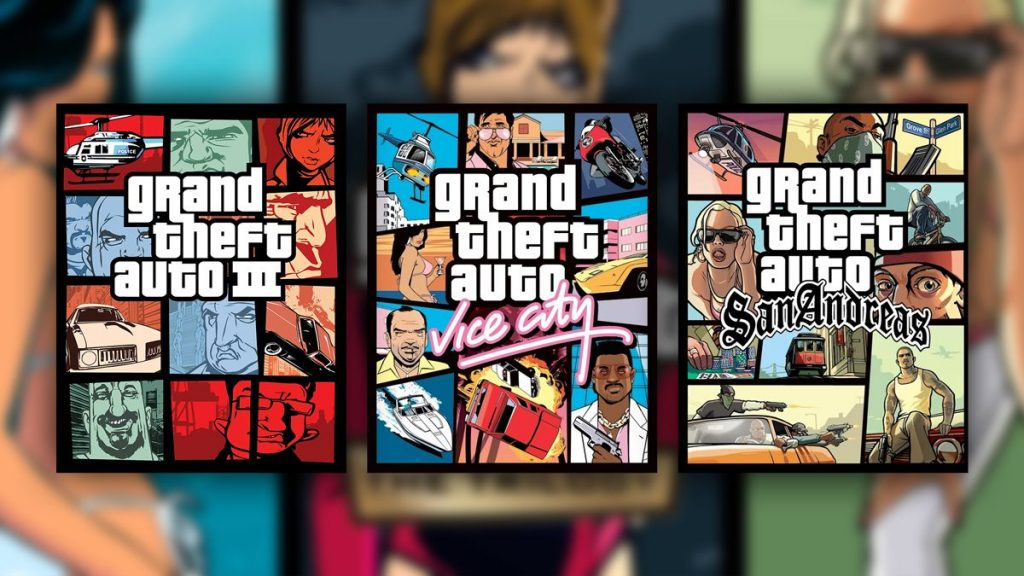 The Trilogy is official, here is the reissue of the GTAs that made history