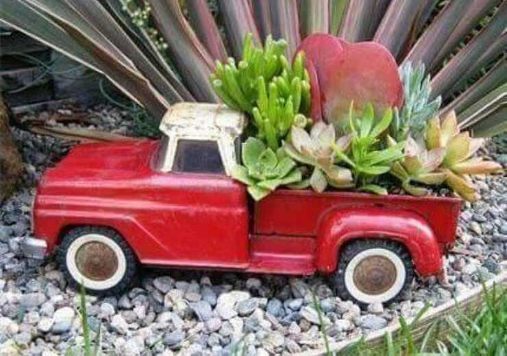 recycle old toys