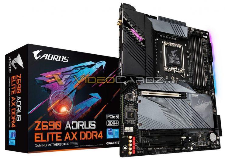 Aorus Z690 Elite AX DDR4