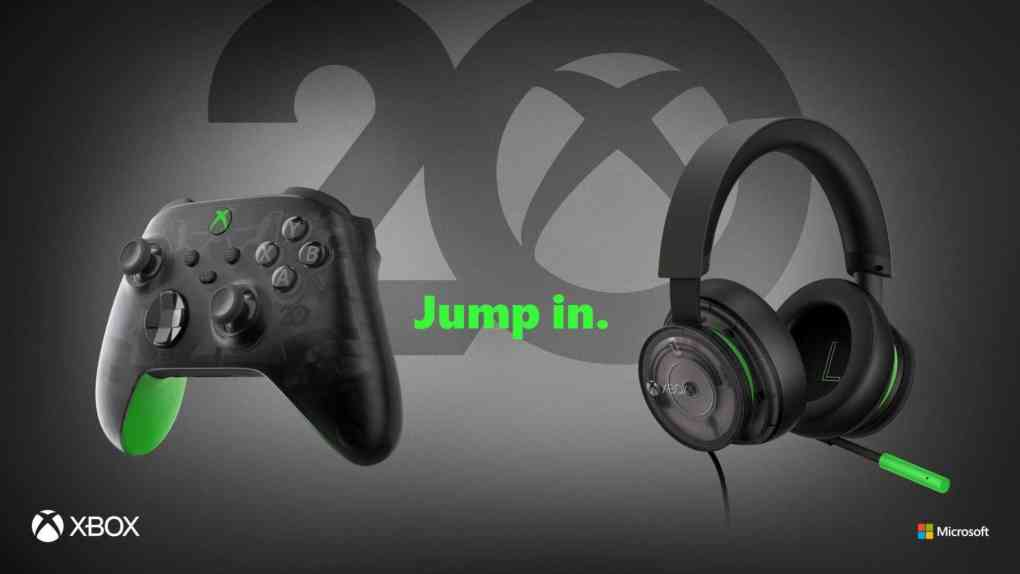 Xbox 20th Anniversary Hardware