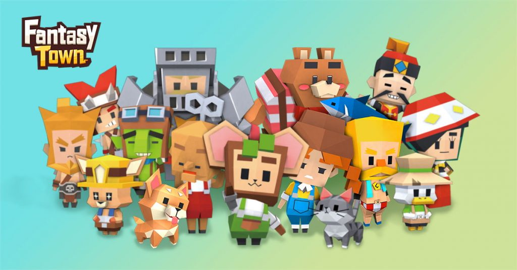 Build, manage, venture into the next mobile simulator, Fantasy Town