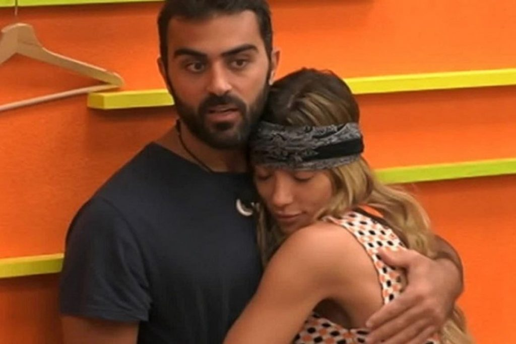 Gf VIP: Soleil in the arms of Gianmaria, after accusations of racism (VIDEO)