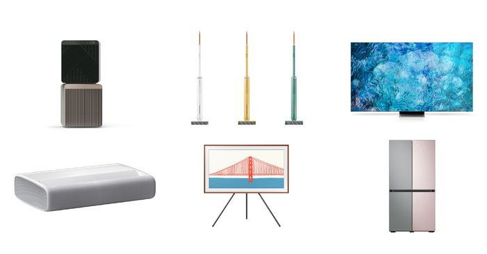 Samsung swept 48 awards from the stage Awards for excellence in international design 2021