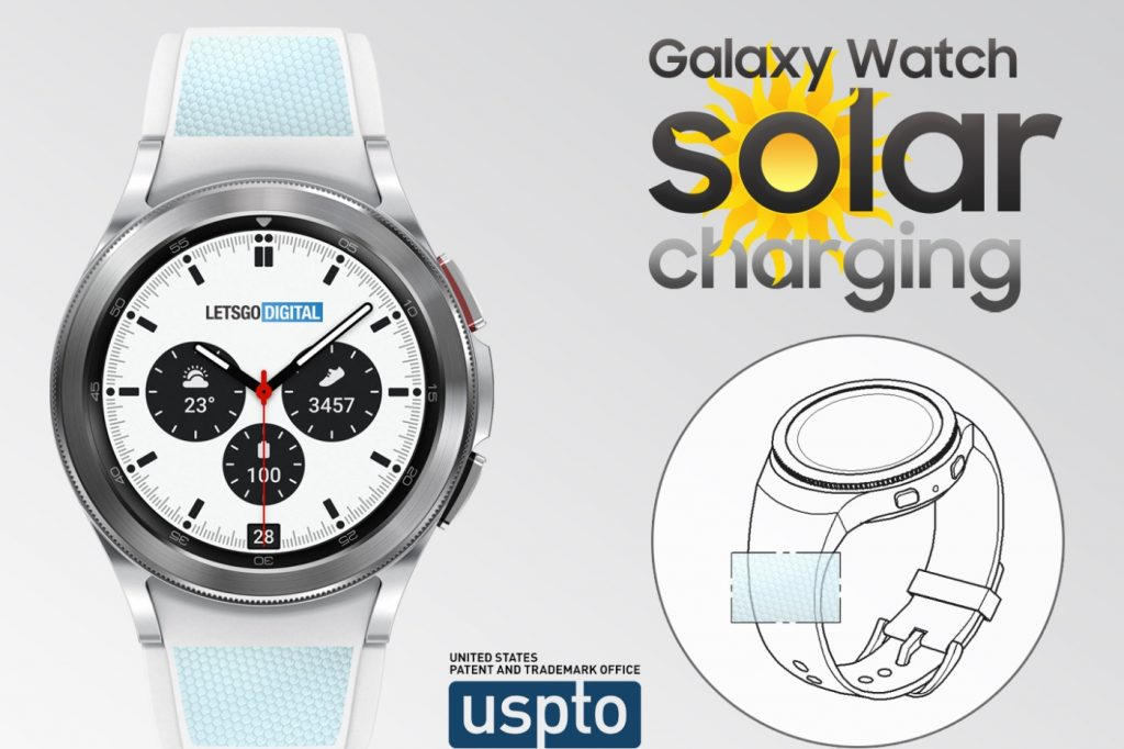 solar energy to power connected watches?
